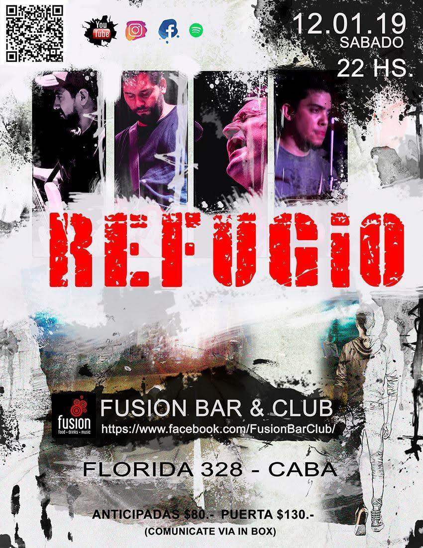 Resultado de imagen para REFUGIO fusion bar