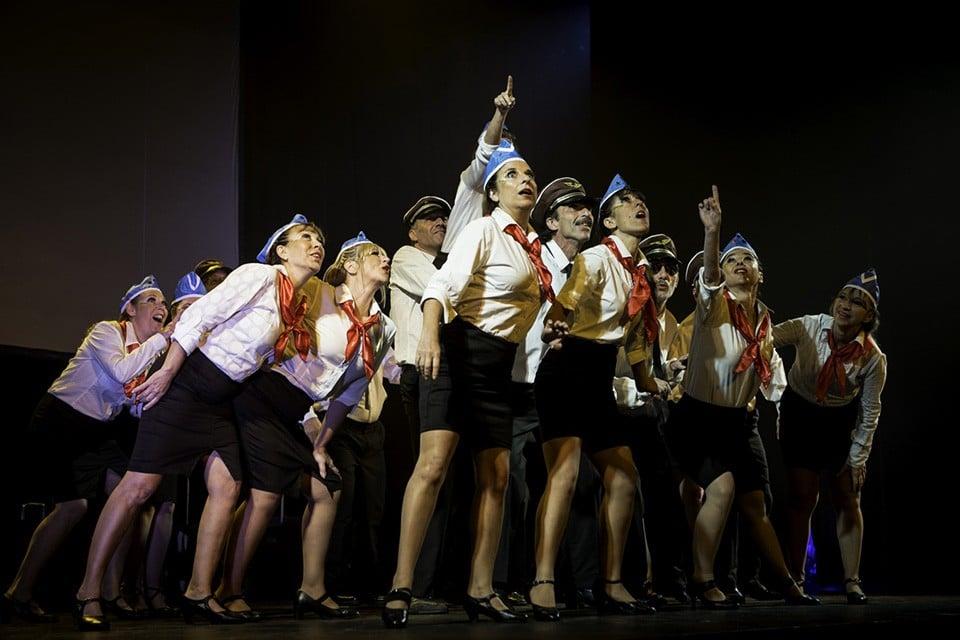 Masmeret. Foto del Complejo Teatral de Buenos Aires