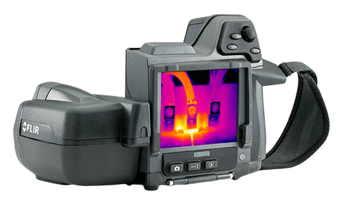 flir t420 termografia