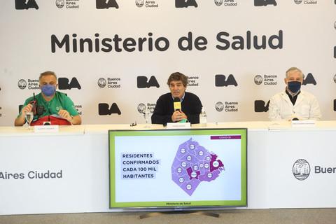 El Ministerio de Salud porteño informó sobre la situación sanitaria de la Ciudad
